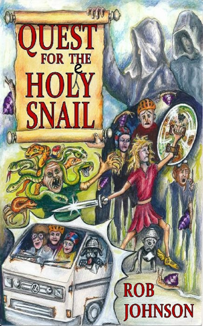 'Quest for the Holey Snail' cover