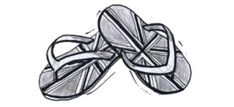 Flip-flops x4 TRANS 50 Midtones -38