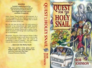 'Quest for the Holey Snail' paperback cover
