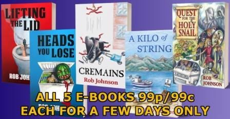 All e-books 99p/99c for a few days only
